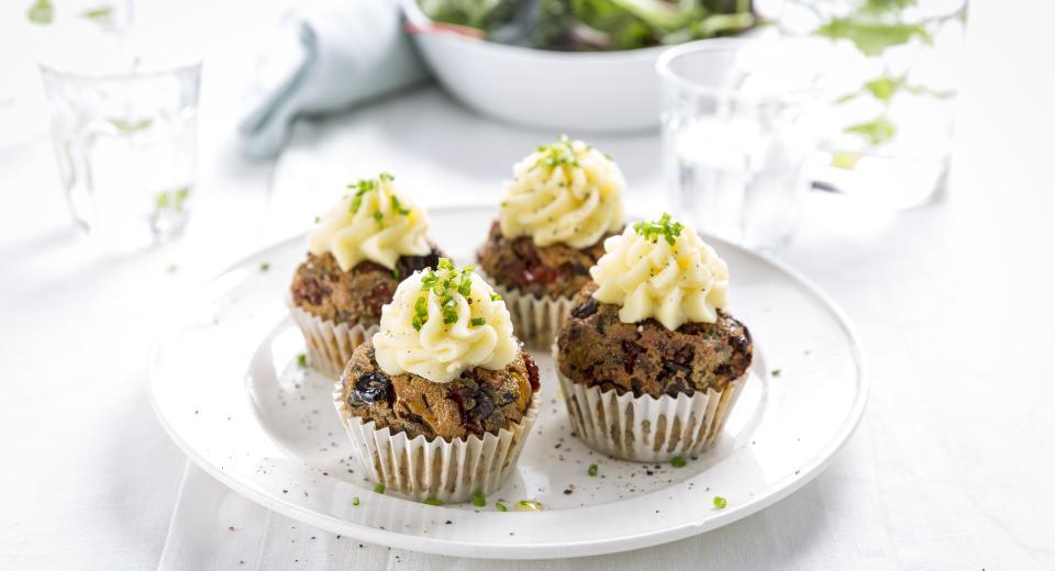 Hartige muffins om van te smullen