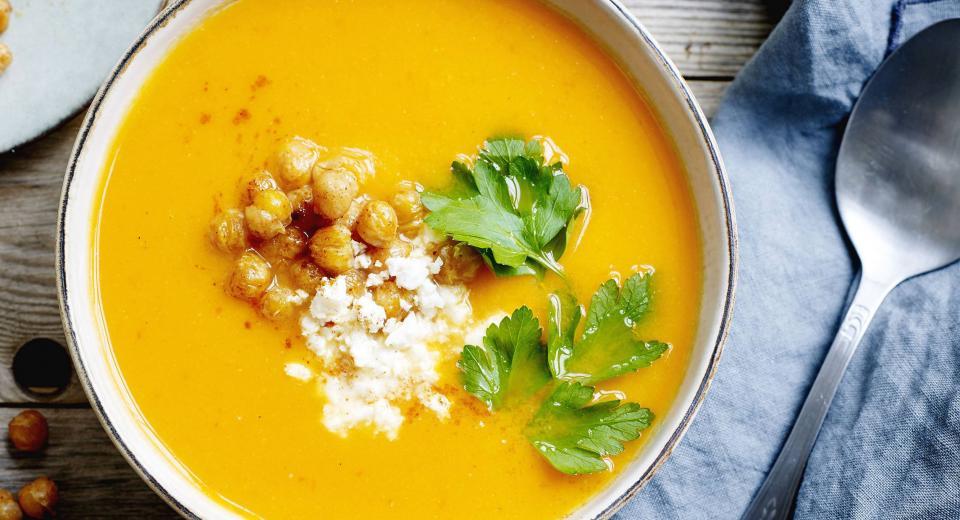 8 recettes de soupes hivernales