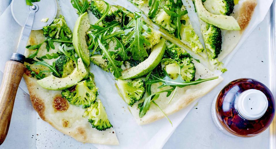 Deze lichte lentepizza's moet je echt eens proeven!