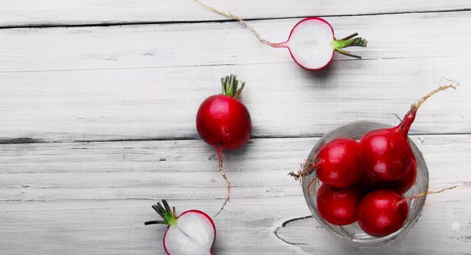 Le radis, légume de printemps