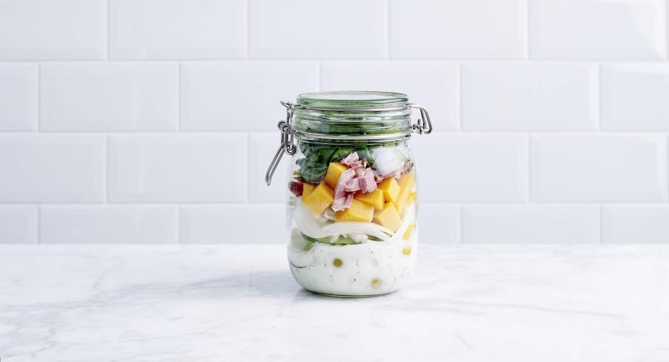 Salad in a jar: zo maak je dat