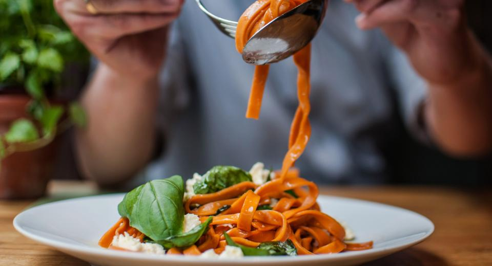 Au resto italien sans les kilos