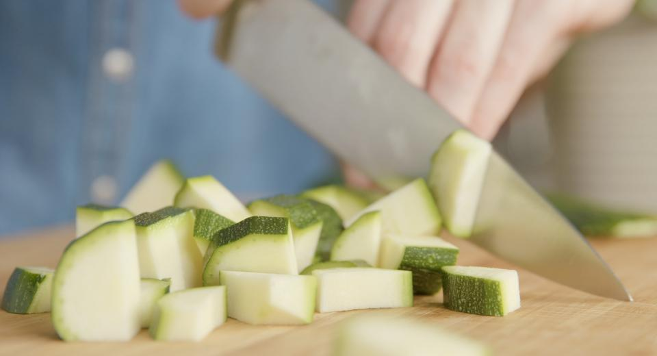 How to: dit is de beste manier om courgette te snijden