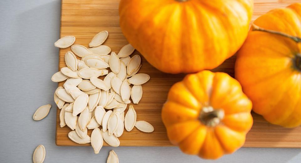 Que faire avec les graines de courge?