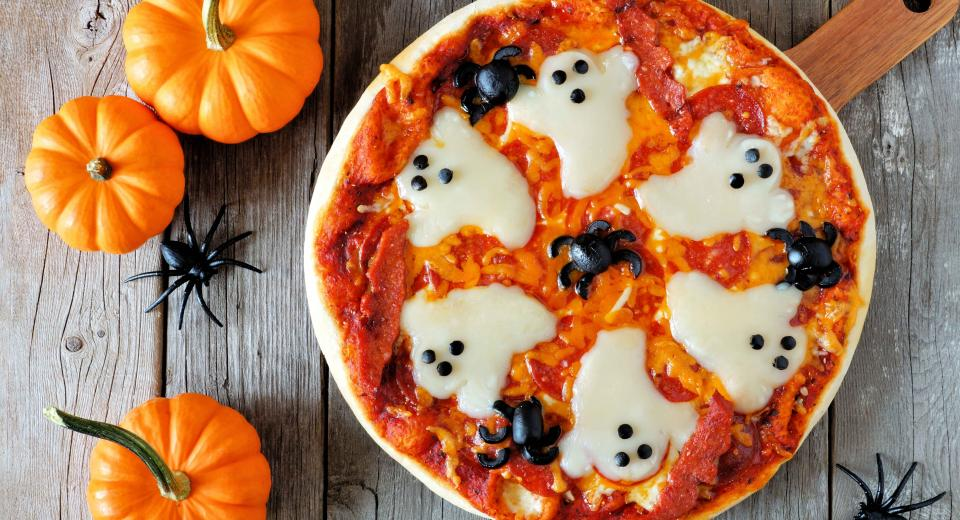 Halloween recept: spookjespizza