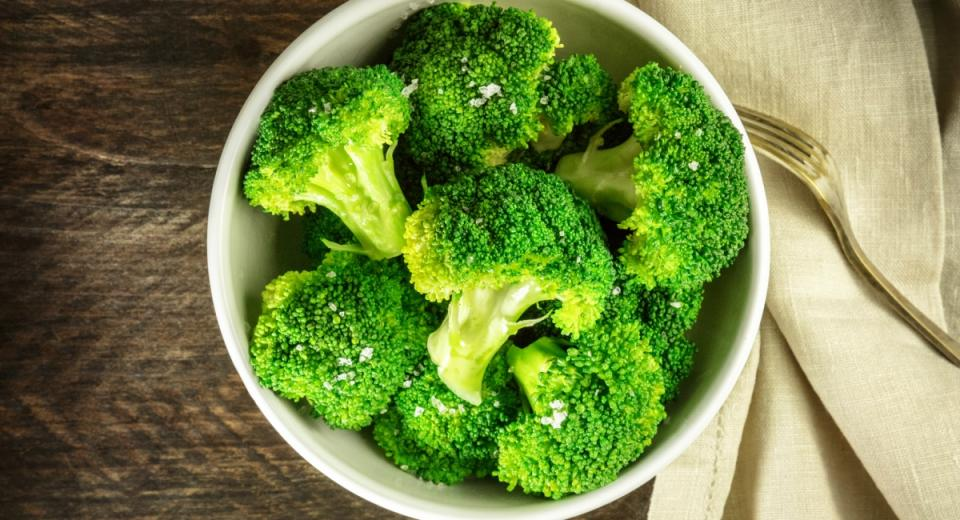 hoe stoom je groenten