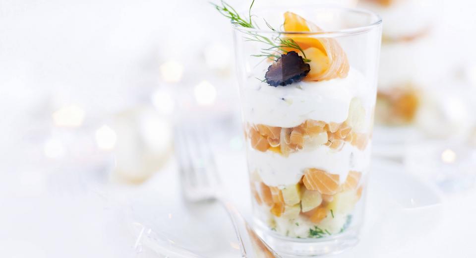 12 recettes de verrines salées pour les fêtes