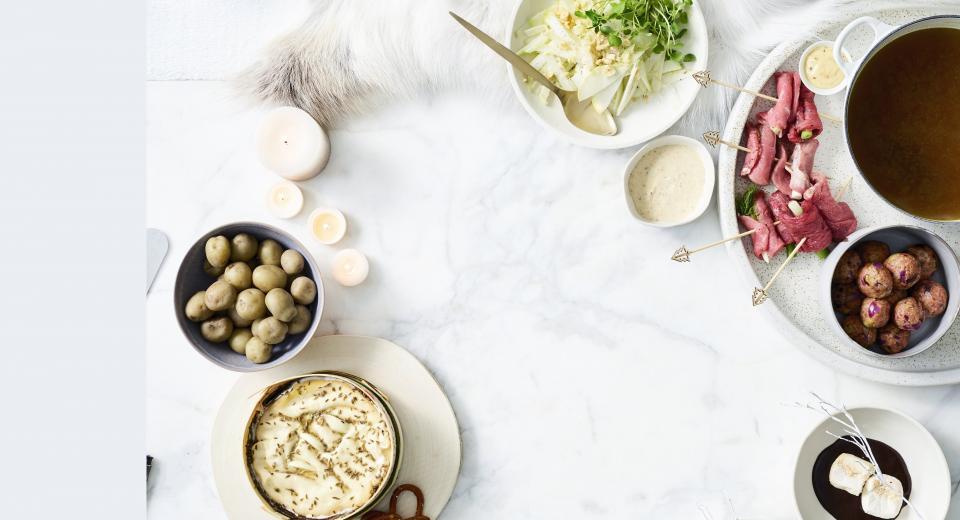 Een échte klassieker op het kerstmenu: fondue