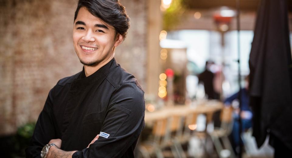 Top chef 2018: Geoffrey partage sa recette de maquereau grillé