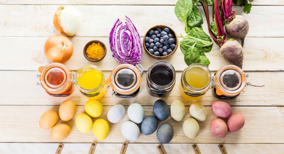 Comment colorer les œufs de Pâques avec des légumes?