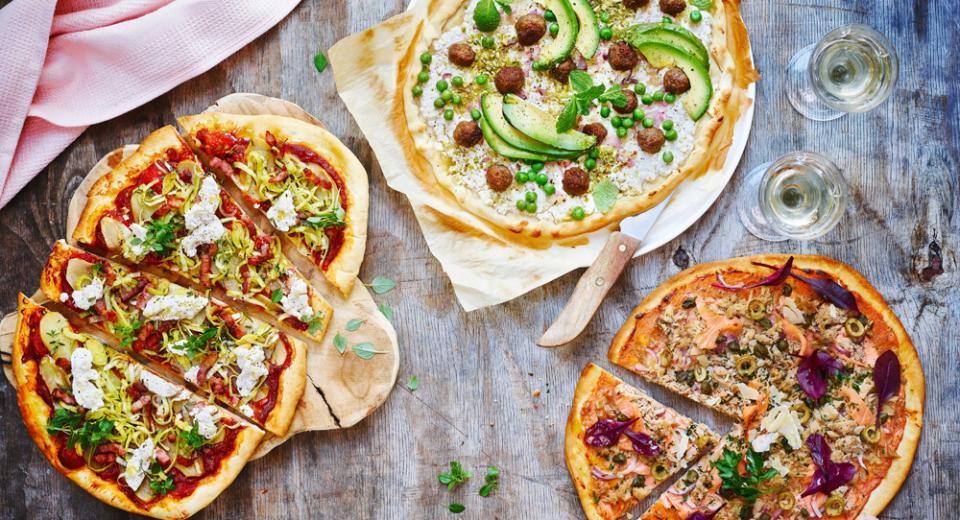 11 recettes de pizza maison originales et étonnantes!
