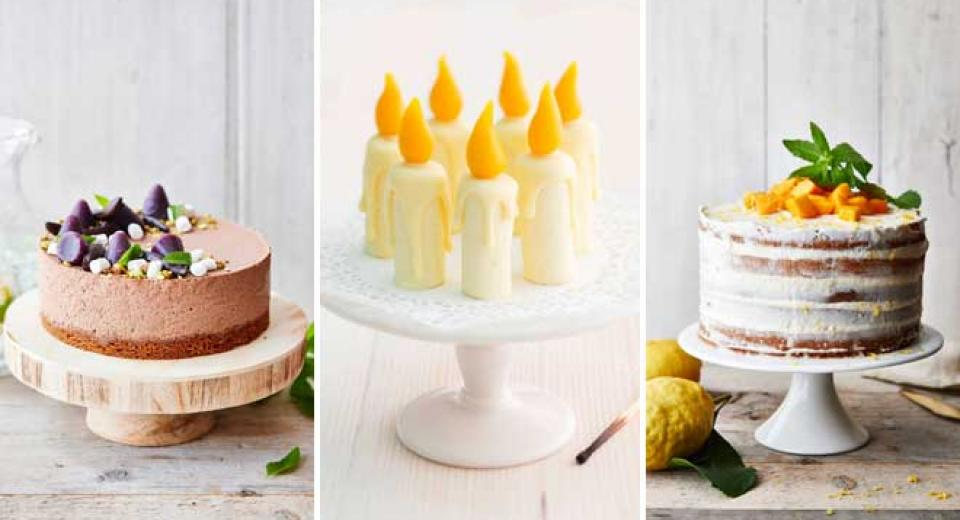 15 gâteaux de fête pour petites et grandes occasions