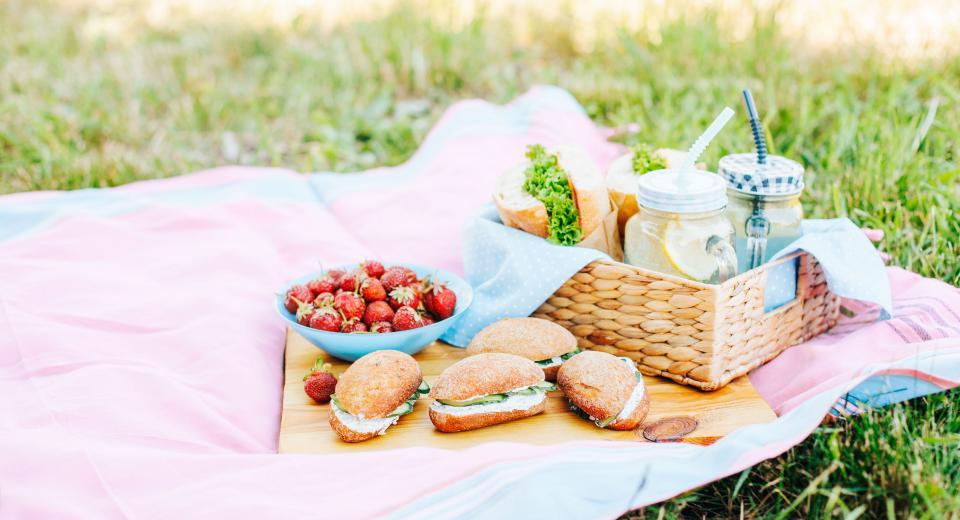 Hoeveel eten moet je voorzien voor een picknick of brunch?