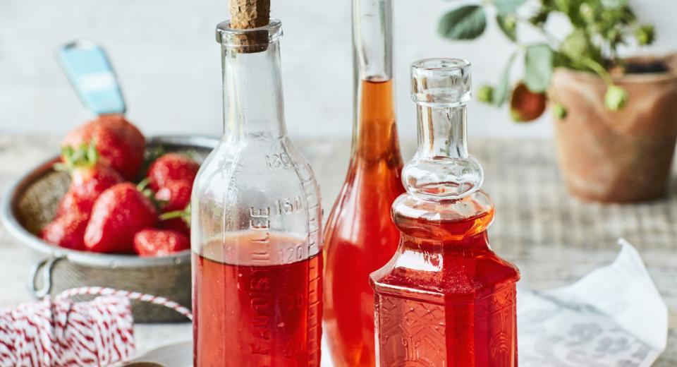 Comment faire du vinaigre de fraise?