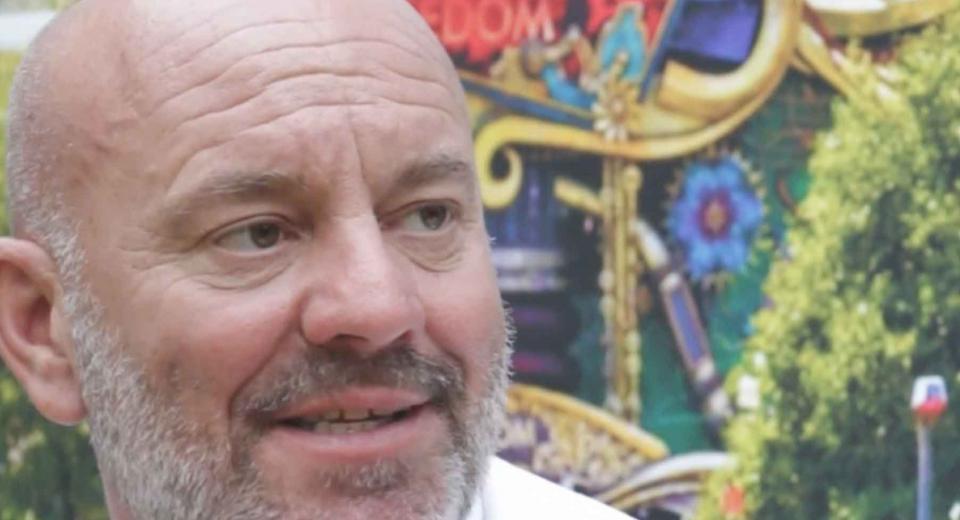 Gespot op Tomorrowland: Piet Huysentruyt