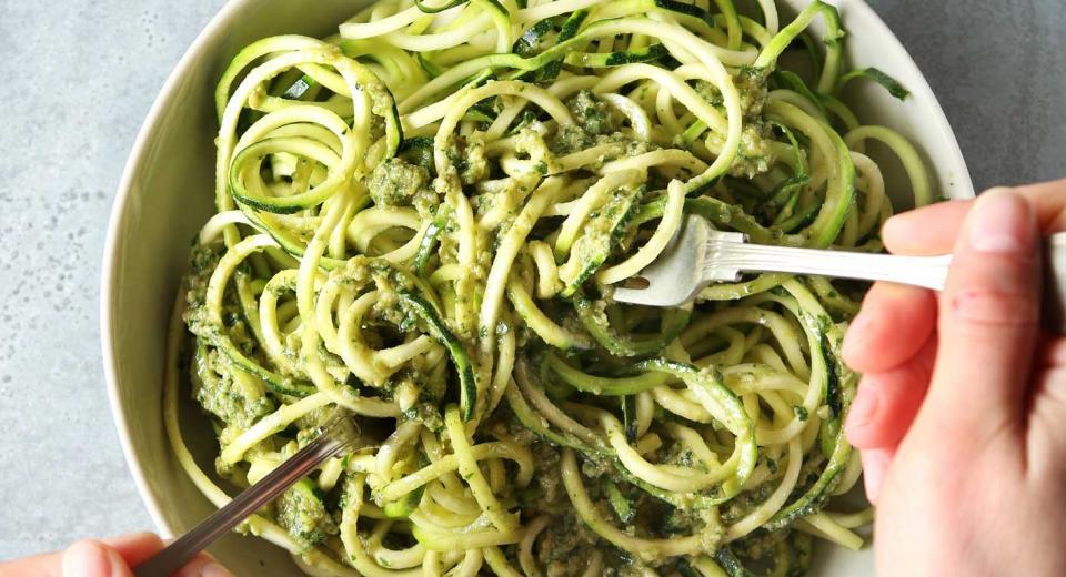 Courgettis! 10 recettes avec des spaghettis de courgette