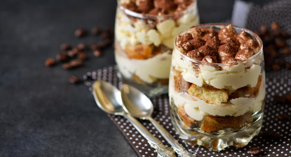 Un tiramisu light, oui, c'est possible!