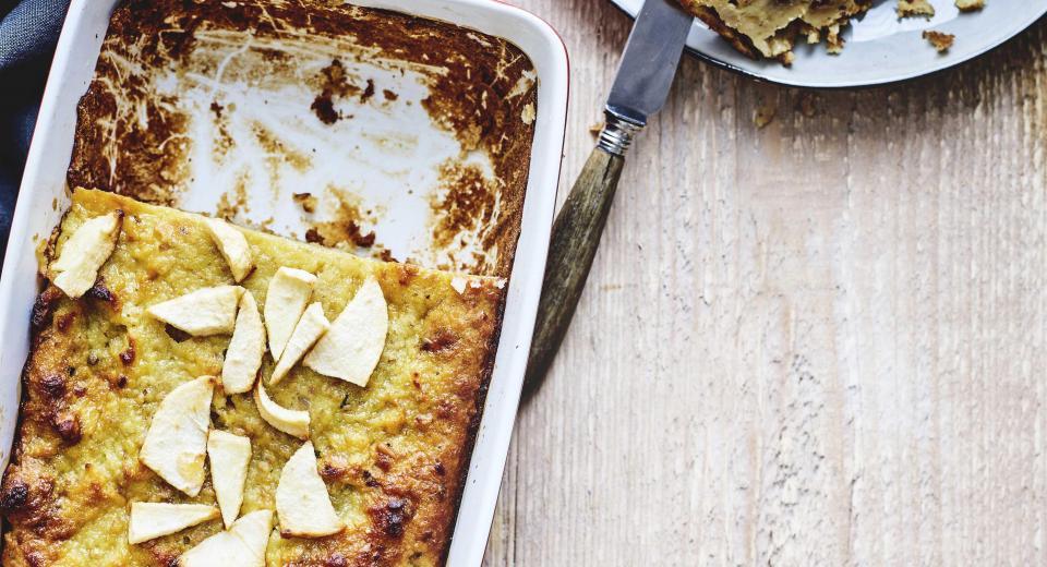 Koken met restjes: broodpudding