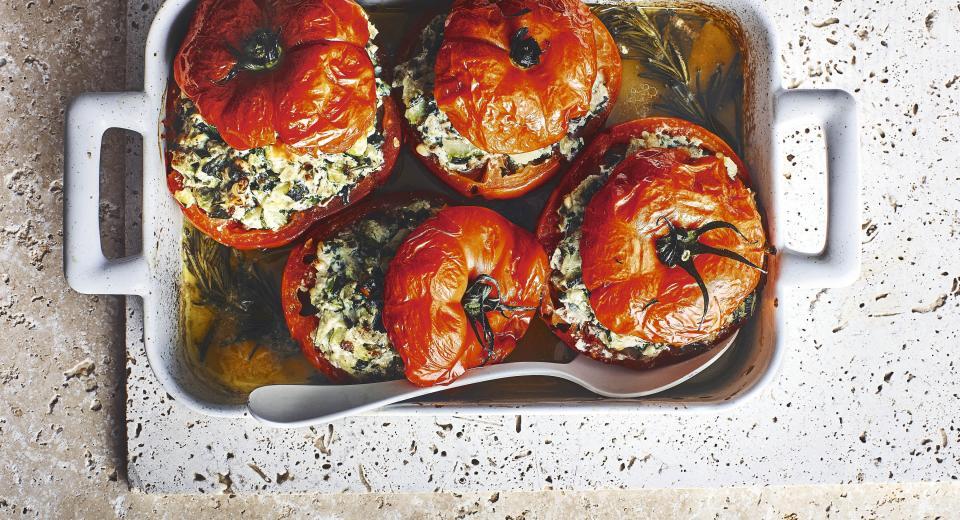 Tomates farcies à la ricotta ou à la viande: une recette piquée à Peas & Love