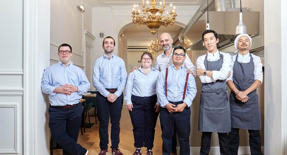 65 degrés: un restaurant bruxellois hors du commun