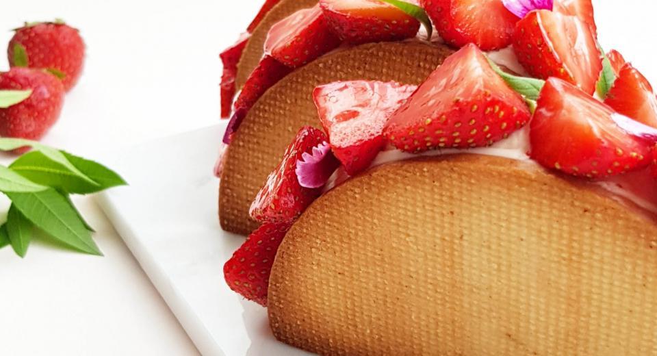Tarte aux fraises revisitée, une recette de Mélanie (Le Meilleur Pâtissier)