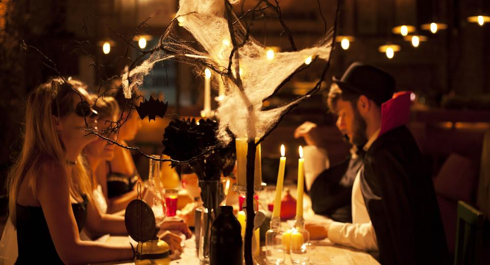 Dîner entre amis: un menu d'Halloween simple et épatant