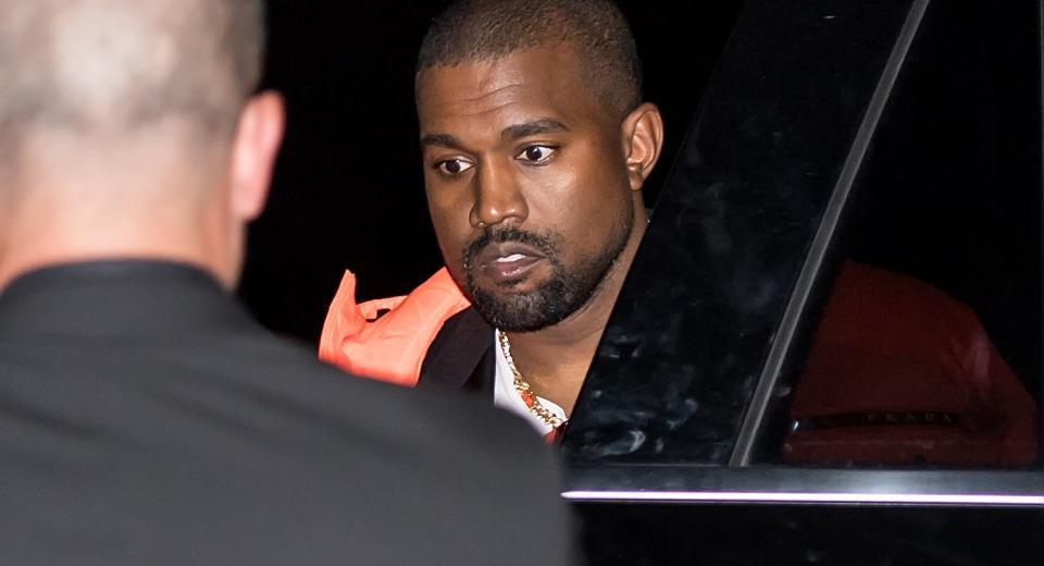 Kanye West aperçu dans une brasserie belge