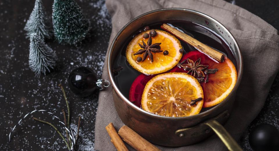 5 recettes de vin chaud maison
