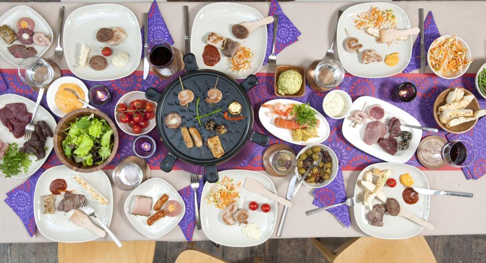3x grillen aan tafel: gourmet, tafelgrill en teppanyaki