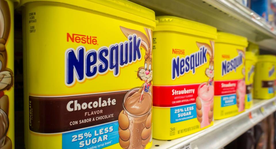 La mythique boîte Nesquik va bientôt disparaître des supermarchés