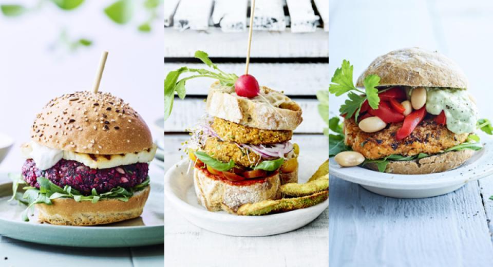 Burger végétarien: toutes nos recettes