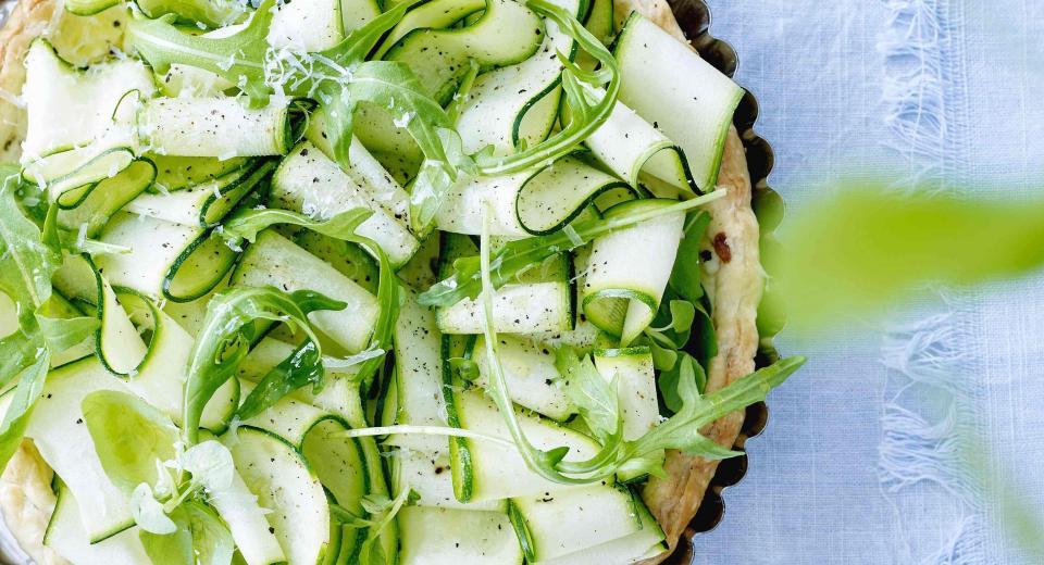 Quiche met een slaatje: 8 frisse recepten