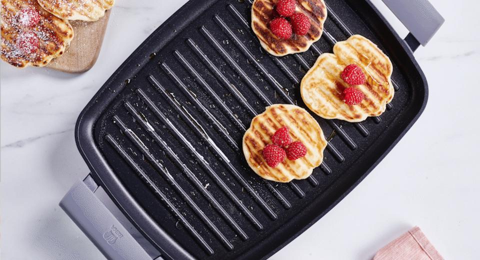 Wafels bakken in de grillpan: het kan!