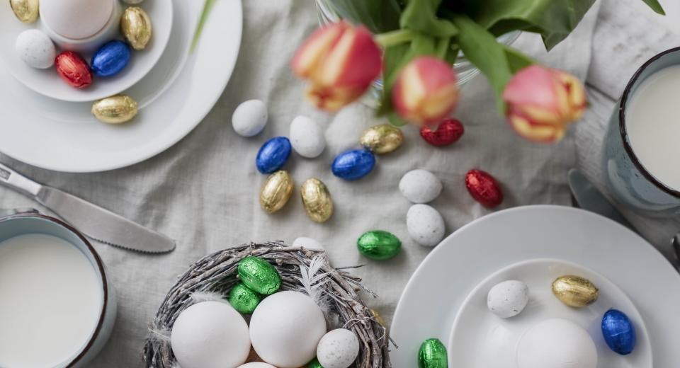 Œufs de Pâques: quelle couleur pour quel chocolat?