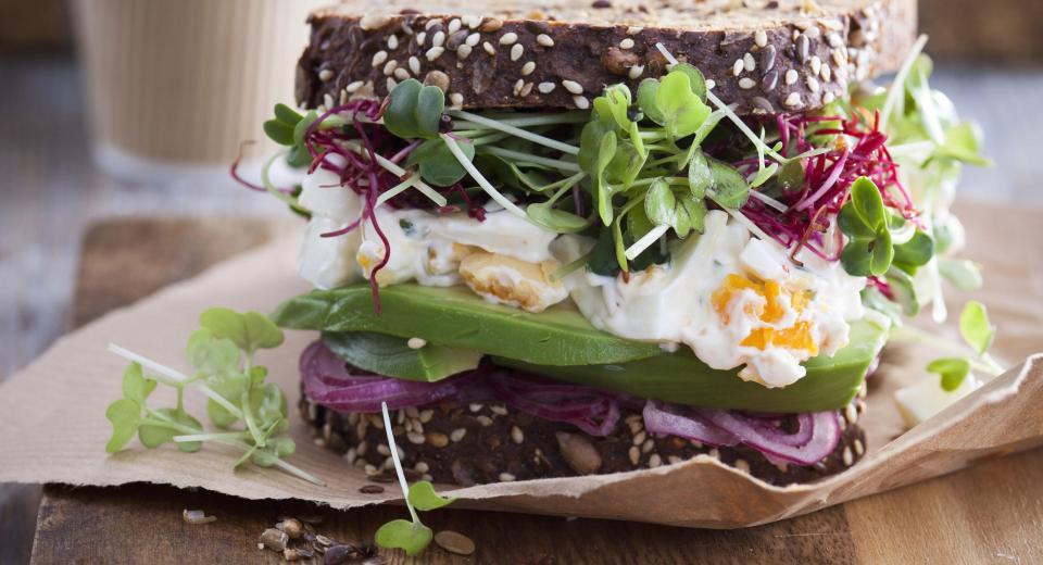 Nos recettes de super-sandwiches, sans viande!