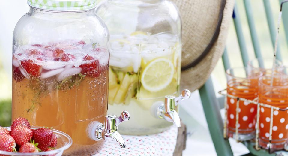 10 verfrissende limonades om zelf te maken