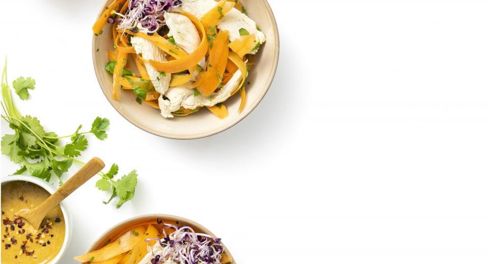 10x salades met sliertjes