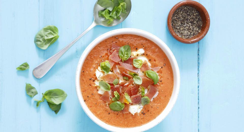 8 recette de soupes froides