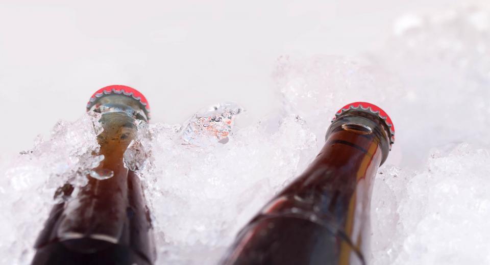 L'astuce ultra simple pour rafraîchir une boisson