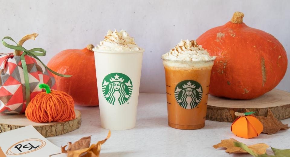 La saison du Pumpkin Spice Latte est ouverte chez Starbucks!
