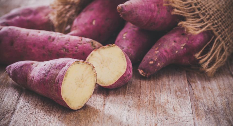 Wist je dat niet alle zoete aardappelen oranje kleuren?