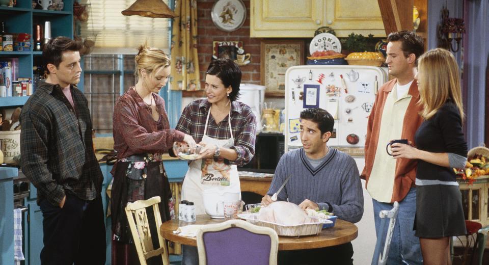 Quiz food: quel personnage de Friends a dit...?