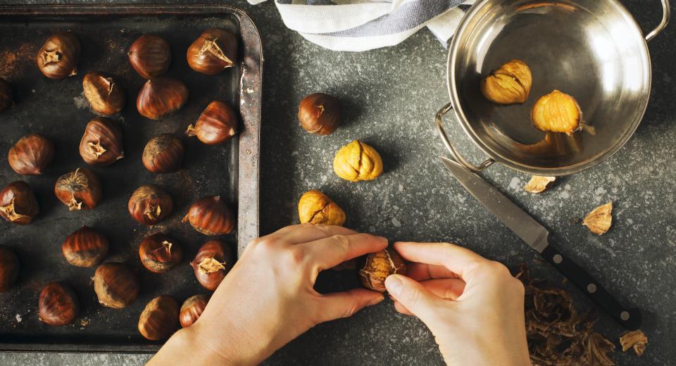 Comment préparer des marrons chauds maison?