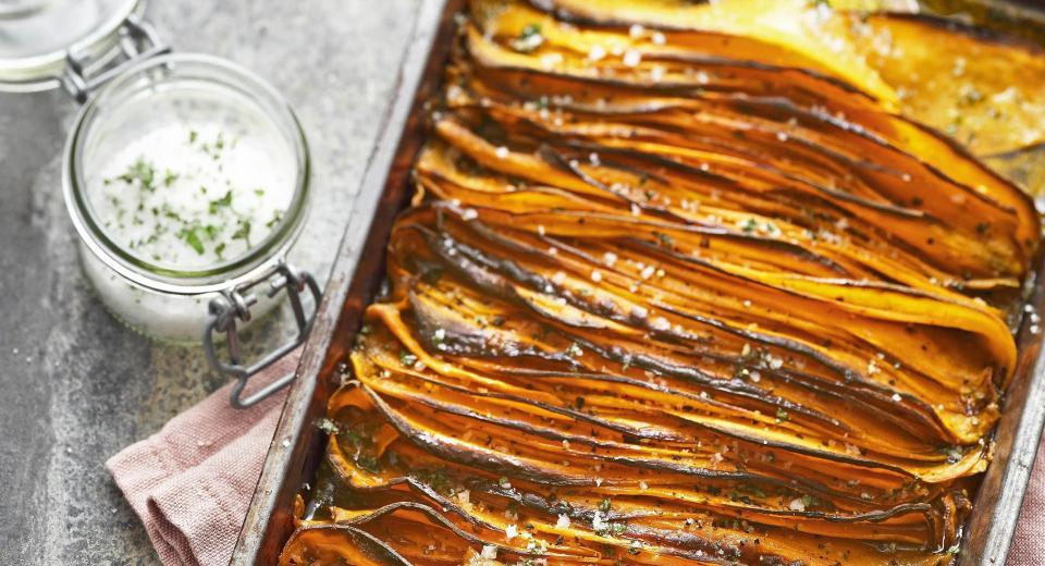 14 recettes au four à base de patate douce