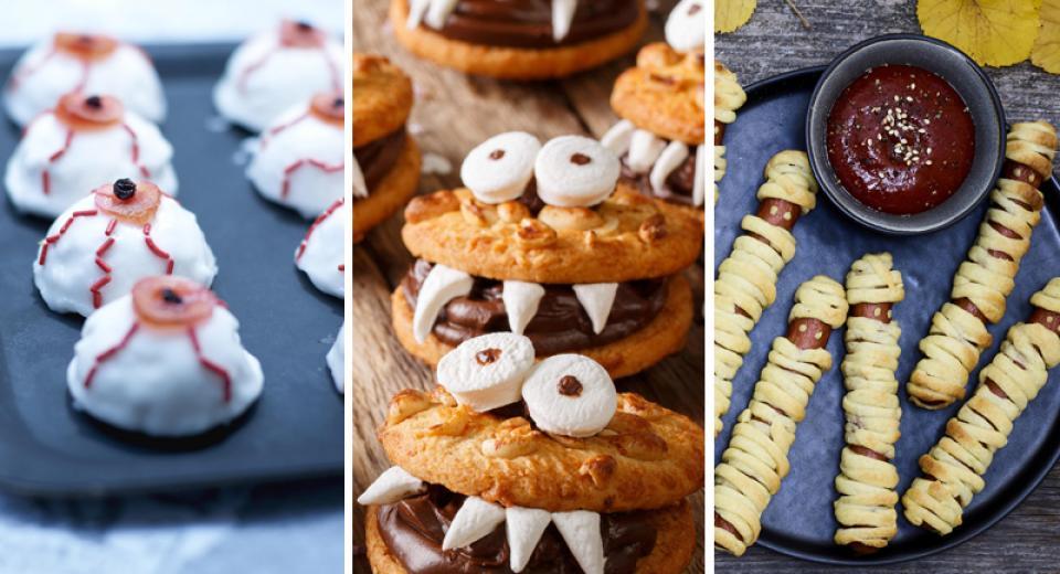 Halloween: toutes nos recettes aussi effrayantes qu'amusantes