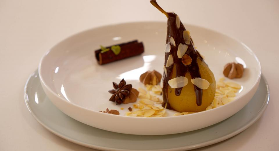 La Cerise sur le Gâteau (LMP): la recette de la poire Belle Hélène