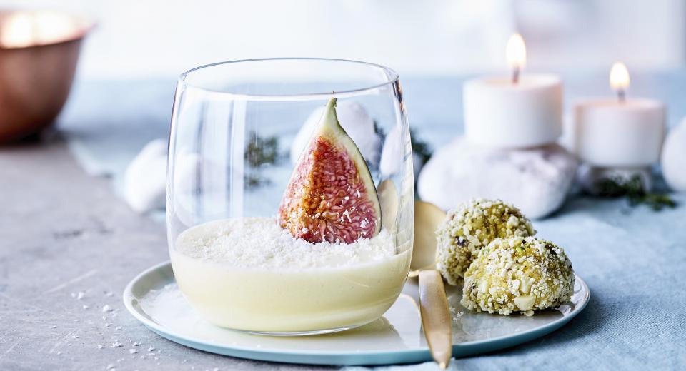 Feestelijke desserts met een vleugje drank