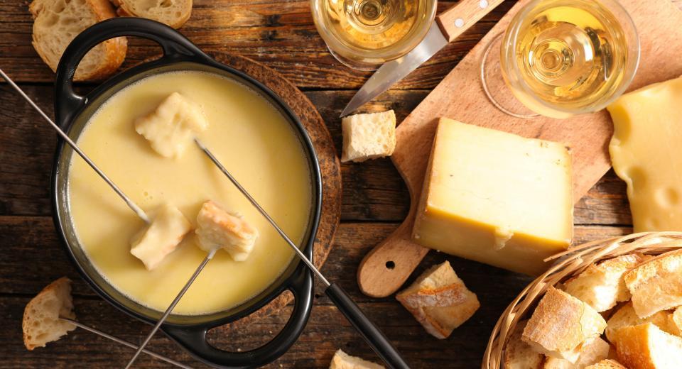 5 recettes de fondue