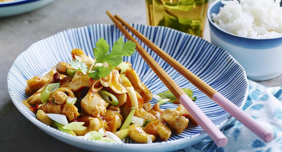 12x wok met kip