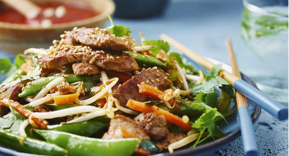 Vlees in de wok: lekker snel